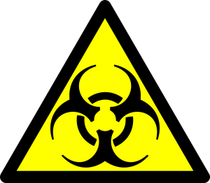 hazardous waste disposal warning